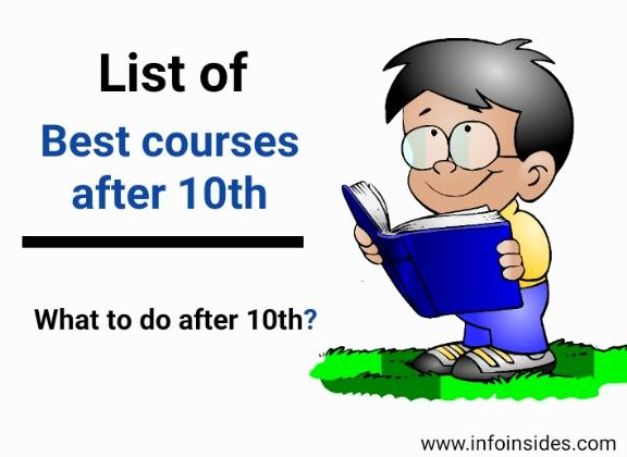 list of best courses after 10th