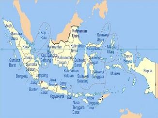 72.000 km persegi populasi : Daftar 34 Provinsi Di Indonesia Infojabodetabek Com