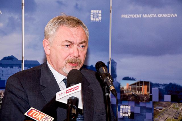Prezydent prof. Jacek Majchrowski podsumował kadencję.