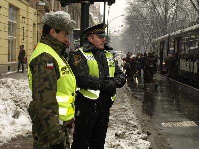 Skrzyżowania pod lupą strażników, policjantów i ? żandarmów