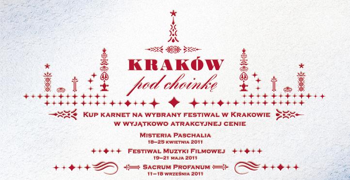Kraków pod choinkę ? Świąteczne karnety już w sprzedaży!