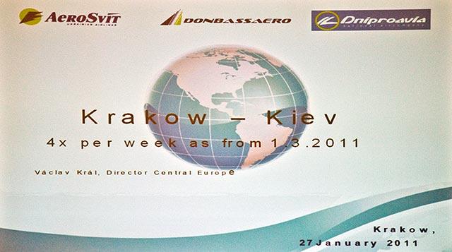 Z Krakowa do Kijowa z ?Aero Svit?