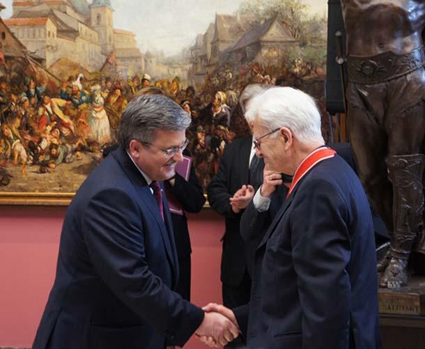 Para Prezydencka na benefisie ks. Adama Bonieckiego ( zdjęcia + video )