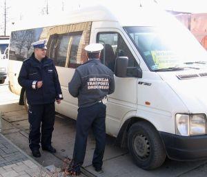 Kontrola busy Policja ITD. Fot.Policja Małopolska
