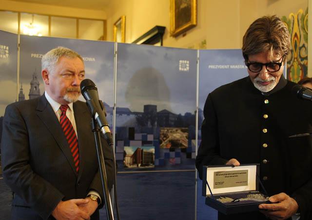 Amitabh Bachchan w Krakowie