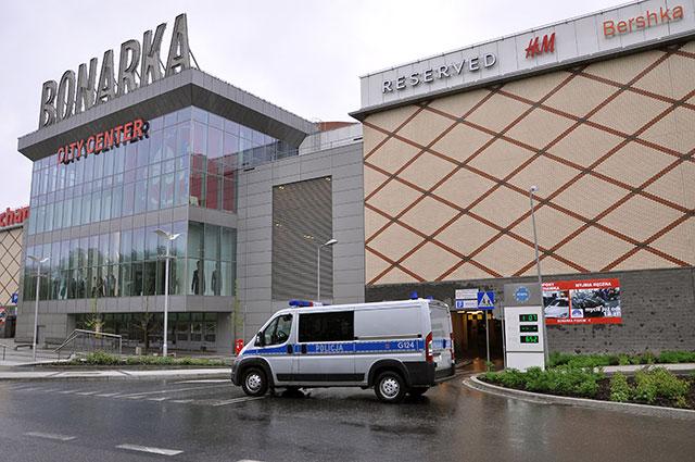 Alarm bombowy w Bonarka City Center w Krakowie