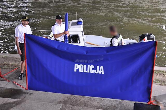 Most Grunwaldzki: Z Wisły wyłowiono ciało młodego mężczyzny