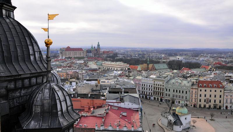 Kraków_widok Fot.Bogusław Świerzowski/InfoKraków24