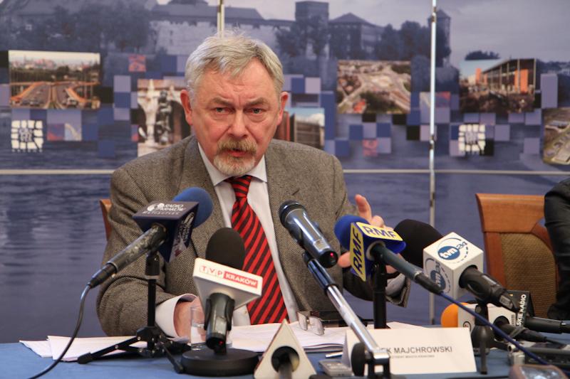 Prezydent Krakowa prof. Jacek Majchrowski. Fot. Jan Graczyński / INFO Kraków24