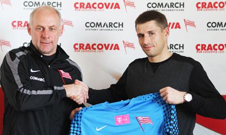 Cierzniak nowym piłkarzem Cracovii (VIDEO)
