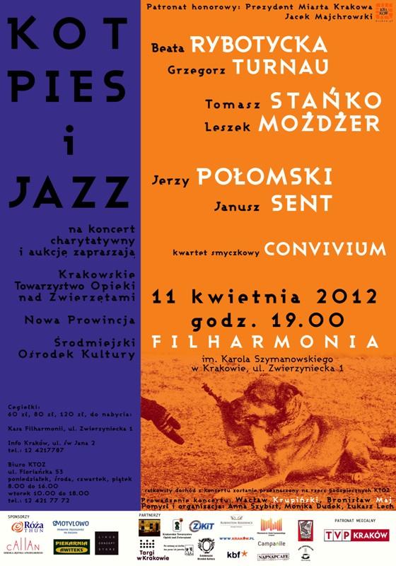 Koncert dla zwierzaków 11 kwietnia w Filharmonii Krakowskiej