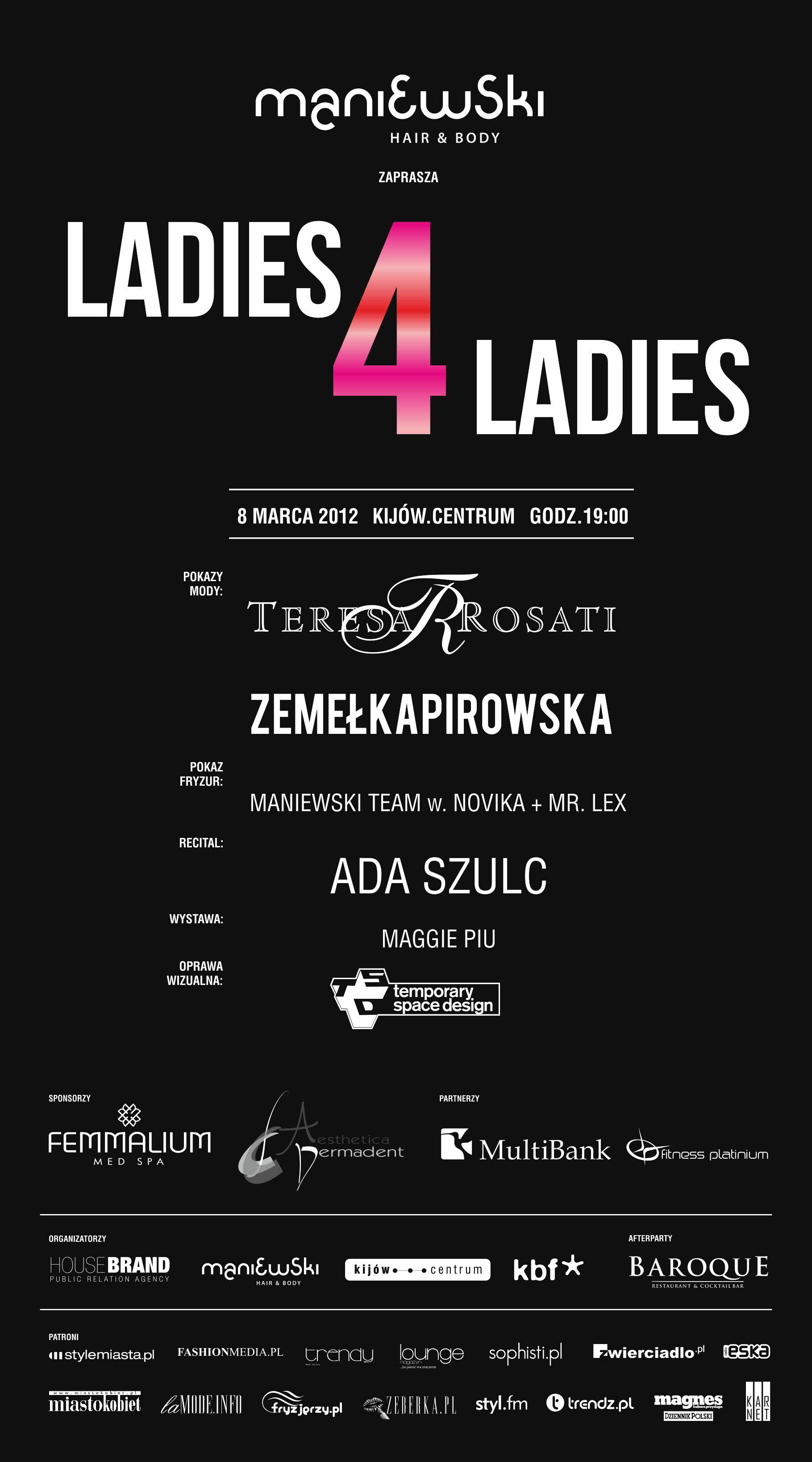Ladies 4 Ladies – kobiecy wieczór w kinie Kijów.Centrum