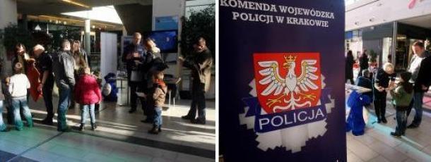 Bezpieczne zakupy przedświąteczne z wydziałem Prewencji KWP w Krakowie