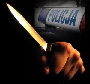 Policja_nóż