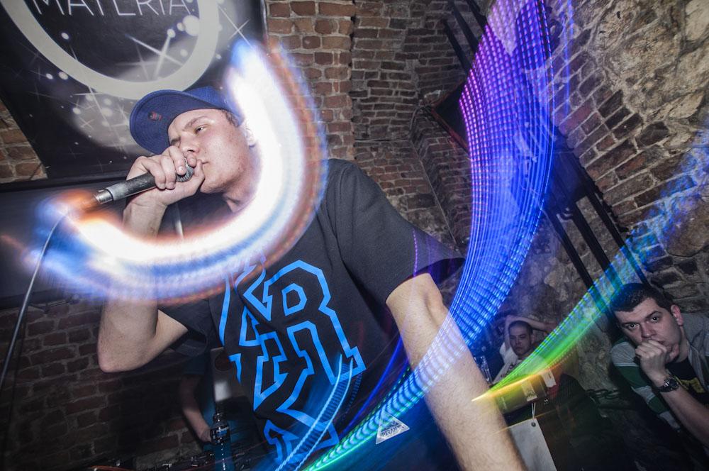 Rap Made In KRK rządził w piątkowy wieczór w klubie Materia [zobacz zdjęcia]