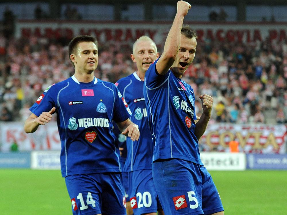 Cracovia przegrała z Ruchem Chorzów (zobacz zdjęcia)