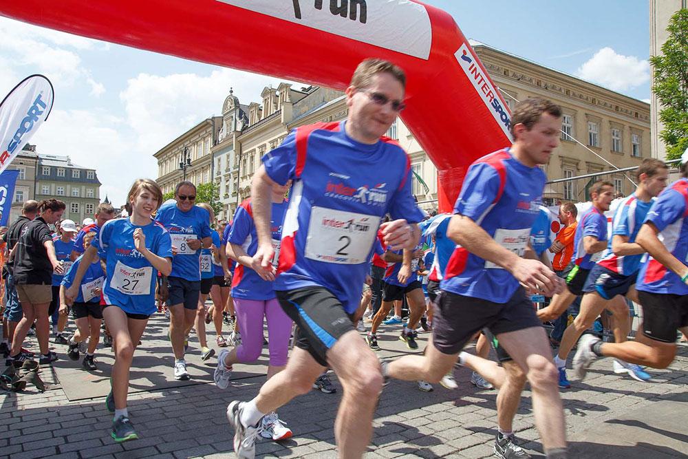 V ProTouch Cracovia INTERRUN 2012 - 3300 Zwycięzców podczas festiwalu biegowego w Krakowie! (zobacz zdjęcia)