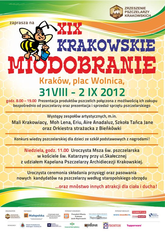 Słodkie pożegnanie lata, czyli XIX Krakowskie Miodobranie