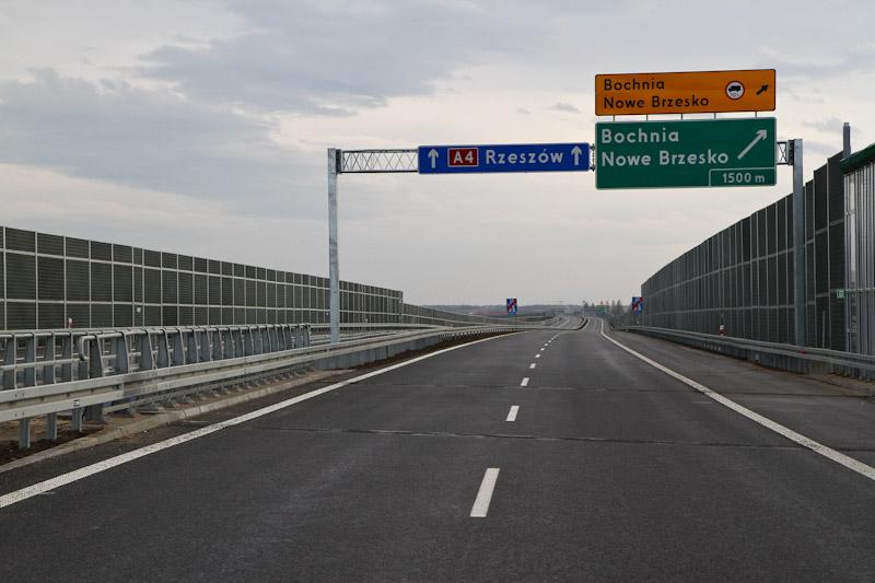 Autostradą A4 z Szarowa do Tarnowa [ zdjęcia ]