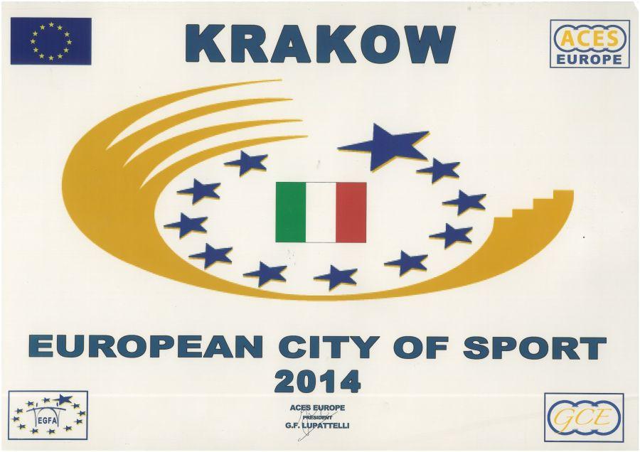Kraków Europejskim Miastem Sportu 2014