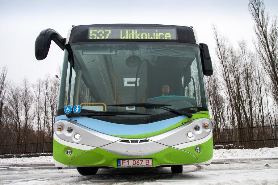 MPK testuje kolejny autobus elektryczny