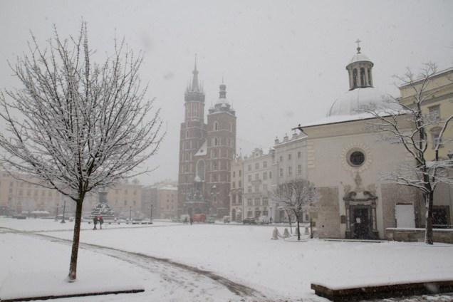 Zima w Krakowie. Fot. Jan Graczyński / INFO Kraków24