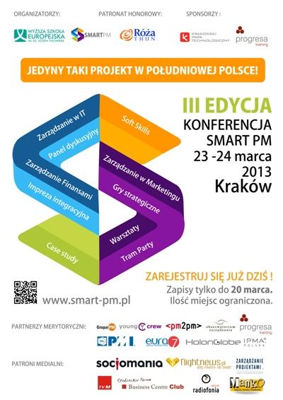 Konferencja Smart PM 2013 - Zaproszenie