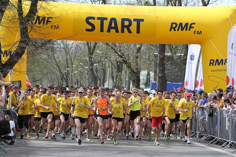 Ponad 1600 osób wystartowało w biegach Radia RMF FM [ zdjęcia ]