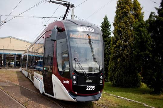 MPK testuje prototypowy tramwaj