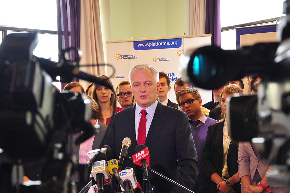 Jarosław Gowin będzie konkurował z Donaldem Tuskiem [ zdjęcia ]