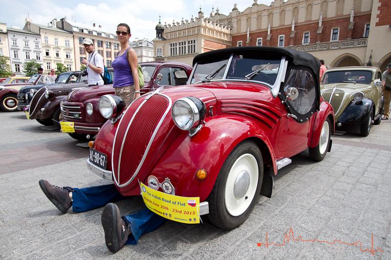 Fiat 500 Topolino na Rynku [ZDJĘCIA]