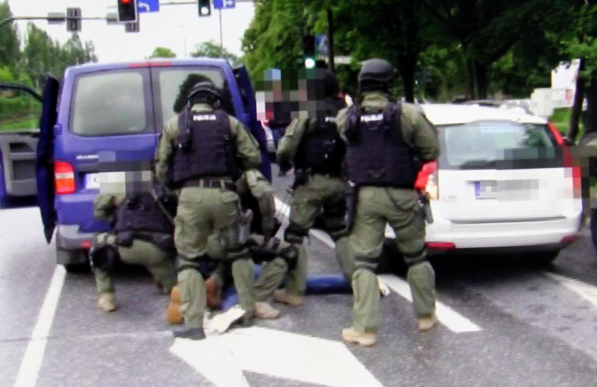 Kibole zatrzymani przez policjantów ze specgrupy