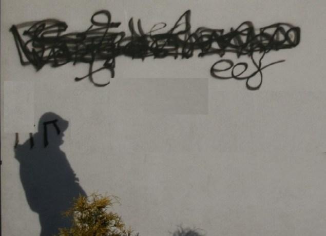 Pseudograffiti. Fot. Policja Małopolska