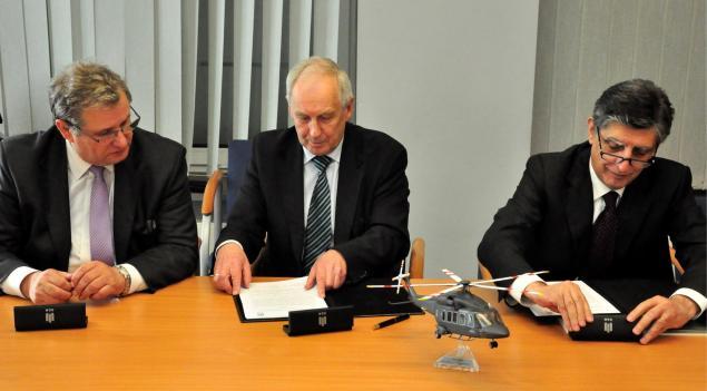 Podpisanie umowy AGH_PZL-Świdnik