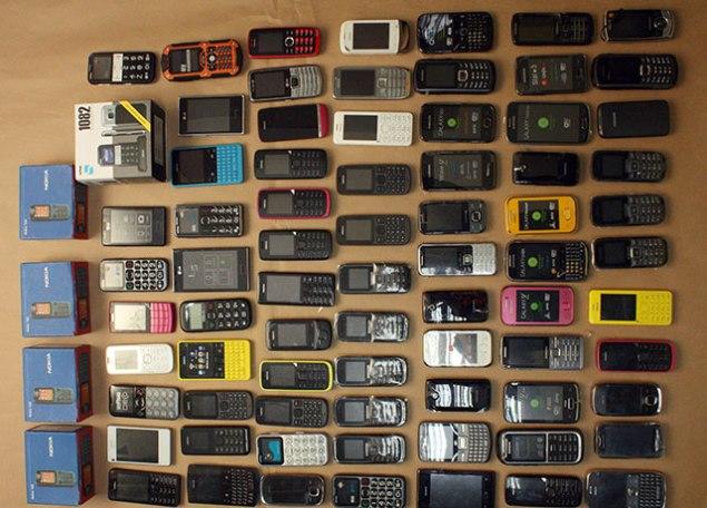 Policja odzyskała skradzione telefony. Fot. Policja Małopolska