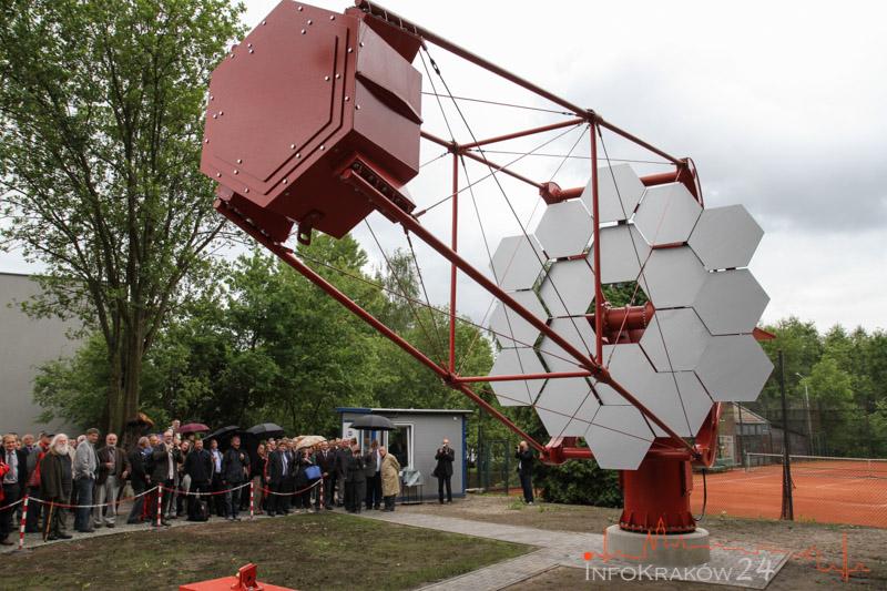 Inauguracja Prototypu teleskopu SST-1M. Fot.Jan Graczyński / INFO Kraków24