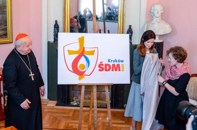 Prezentacja logo ŚDM 2016. Fot. Bogusław Świerzowski/INFO Kraków24
