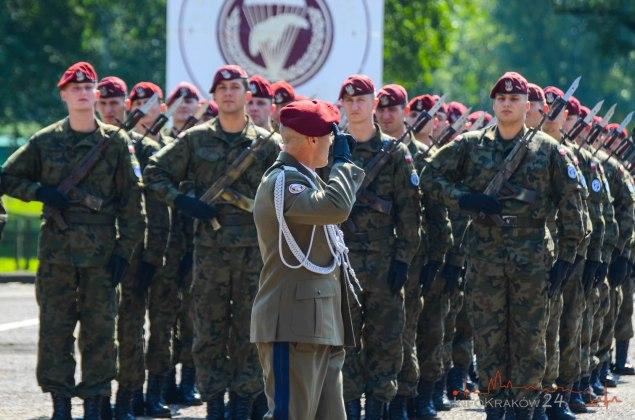 Święto 6 BDS. Fot. Bogusław Świerzowski / INFO Kraków24