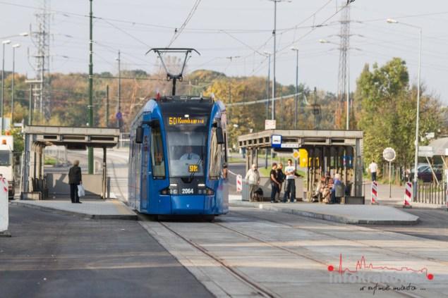 Nowe torowisko ul. Na Zjeździe. Fot. Jan Graczyński / INFO Kraków24
