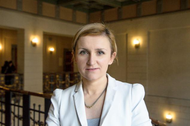 Katarzyna Cięciak zastępca prezydenta Krakowa ds. edukacji i sportu . Fot. Bogusław Świerzowski / INFO Kraków24