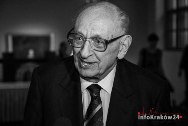 Władysław Bartoszewski. Fot. Jan Graczyński /INFO Kraków24