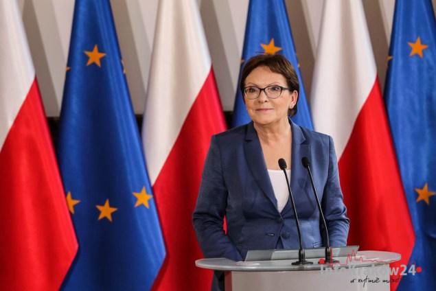Premier Ewa Kopacz. Fot. Jan Graczyński / INFO Kraków24
