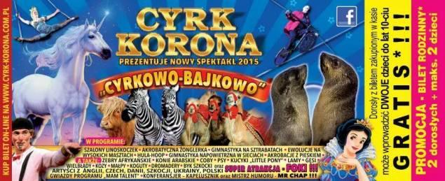 Cyrk Korona ULOTKA 2015