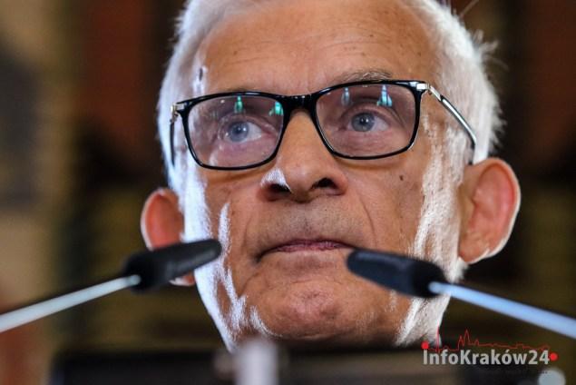 Profesor. Jerzy Buzek. Fot. Jan Graczyński/INFO Kraków24