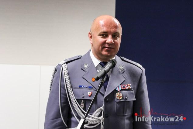 Nadinspektor Mariusz Dąbek. Fot. Jan Graczyński / INFO Kraków24