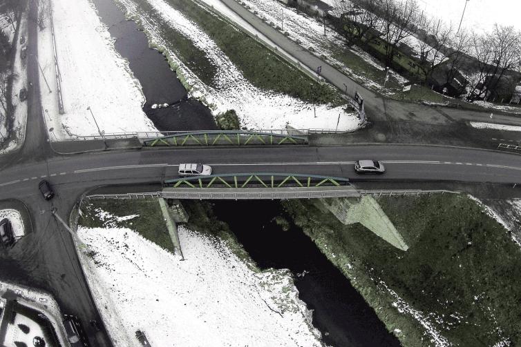 Odnowiony most na Rudawie otwarty. Al. 3 Maja jednokierunkowa