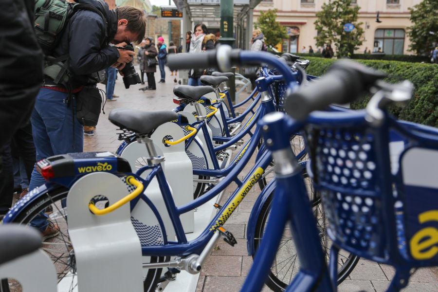 Od 1 marca więcej stacji i rowerów Wavelo