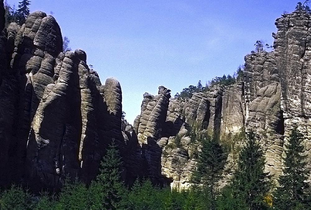 Czechy - w labiryncie skalnych miast