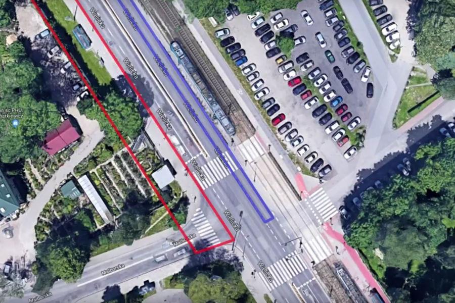 Rozpoczęła się przebudowa skrzyżowania przy ul.Wielickiej