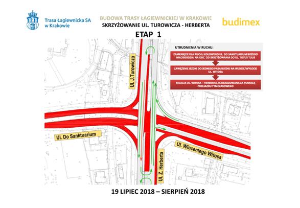 W czwartek rozpoczęcie budowy Trasy Łagiewnickiej